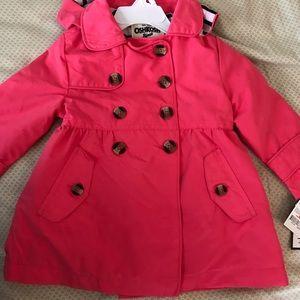 OshKosh Pink 2T Raincoat